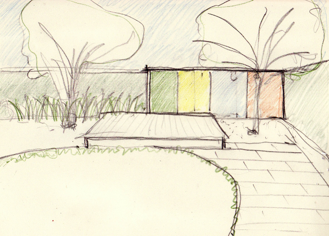 Peter-Brown-Architects-Peggy-Bennett-Residence-Shed-Sketch